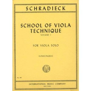 Schradieck - School of Viola Technics Edited by Pagels Published by International Music Company..